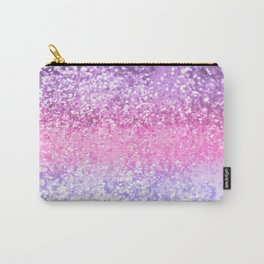 Unicorn Girls Glitter #2 #shiny #decor #art #society6 Carry-All Pouch