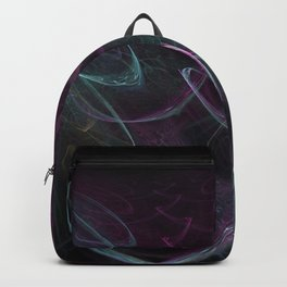 Christmas blizzard. Abstract Backpack
