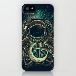 Moon Keeper iPhone Case