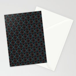 Abstract geometric surface  / The L pattern 1 Stationery Cards