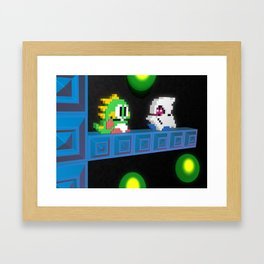 Inside Bubble Bobble Framed Art Print