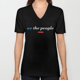 We the People Unisex V-Neck