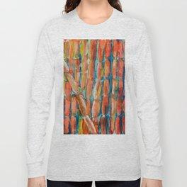 Coral Night of Sugarcane Long Sleeve T-shirt