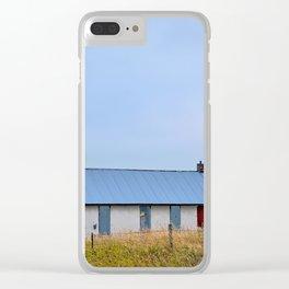 Nebraska Prairie Clear iPhone Case