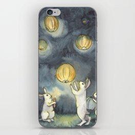 Sky Lanterns iPhone Skin