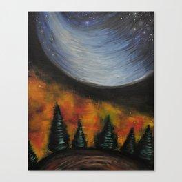 Dusk in the Taiga Canvas Print