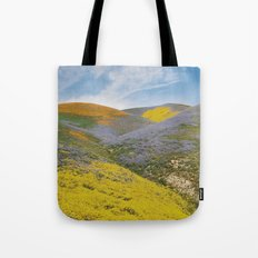 Bloomtown California Tote Bag