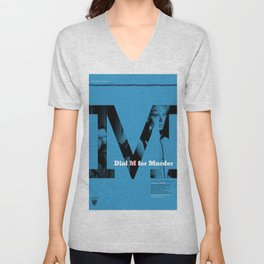 Hitchcock: Dial M For Murder Unisex V-Neck