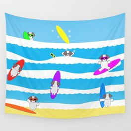 Totally Shih Tzu Surf Wall Tapestry