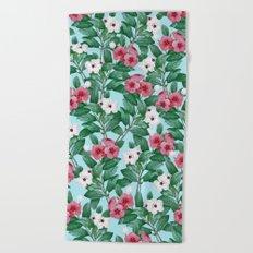 Flower garden II Beach Towel