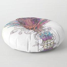 Journeying Spirit (Mountain Lion) Floor Pillow