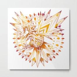 Thunder Bird Metal Print