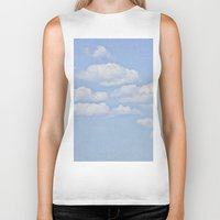 clouds Biker Tanks featuring Clouds by Pure Nature Photos