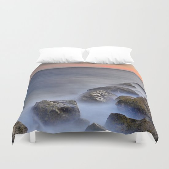 """The struggle of the sea"" Duvet Cover"