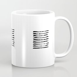 Black striped windows Coffee Mug