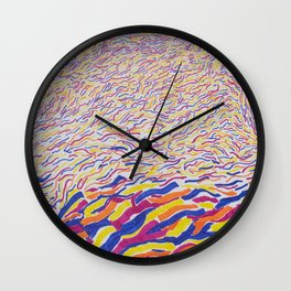 From the Pool Wall Clock