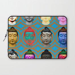 Buddha Heads Laptop Sleeve