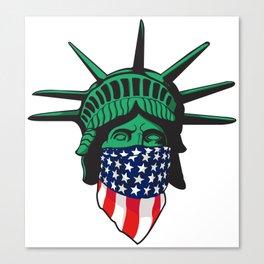 Statue of Liberty USA Canvas Print