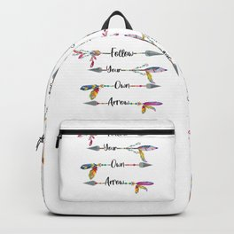 fOLLOW yOUR oWN aRROW Backpack