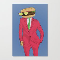 Burger Mr. Canvas Print