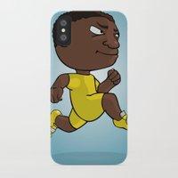 runner iPhone & iPod Cases featuring Runner by Jordygraph