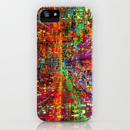 colourful peace iPhone Case