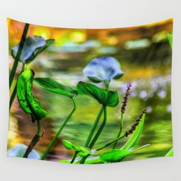 Pond life Wall Tapestry