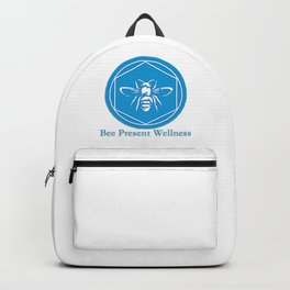 Bee Present Wellness Logo Backpack
