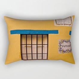 Yellow Wall Rectangular Pillow