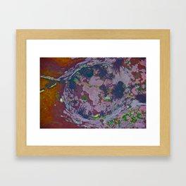 Under Water Creation Framed Art Print