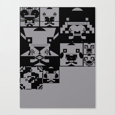 iconography Canvas Print