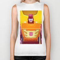 transformer Biker Tanks featuring G1 Transformers Autobot Rodimus Prime by TJAguilar Photos