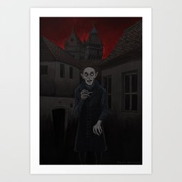 Nosferatu Night Creeper Art Print