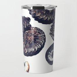 Ammonite illustration Travel Mug