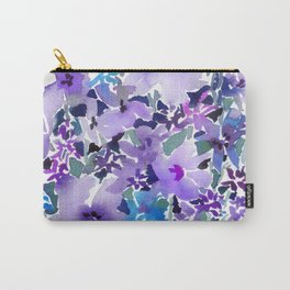 Lavender Thicket Carry-All Pouch
