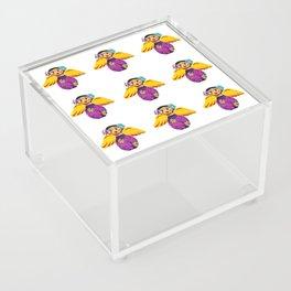 Mexican Purple Angels Acrylic Box