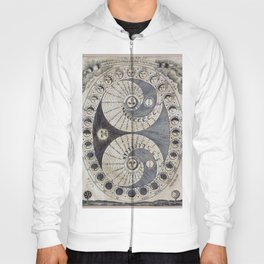 Ancient astronomy chart Phases of the Moon  Hoody