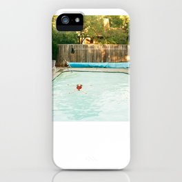 Pool Angel iPhone Case