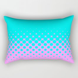 Blue Holes Rectangular Pillow
