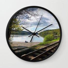 Miniature Railways In Wales Wall Clock