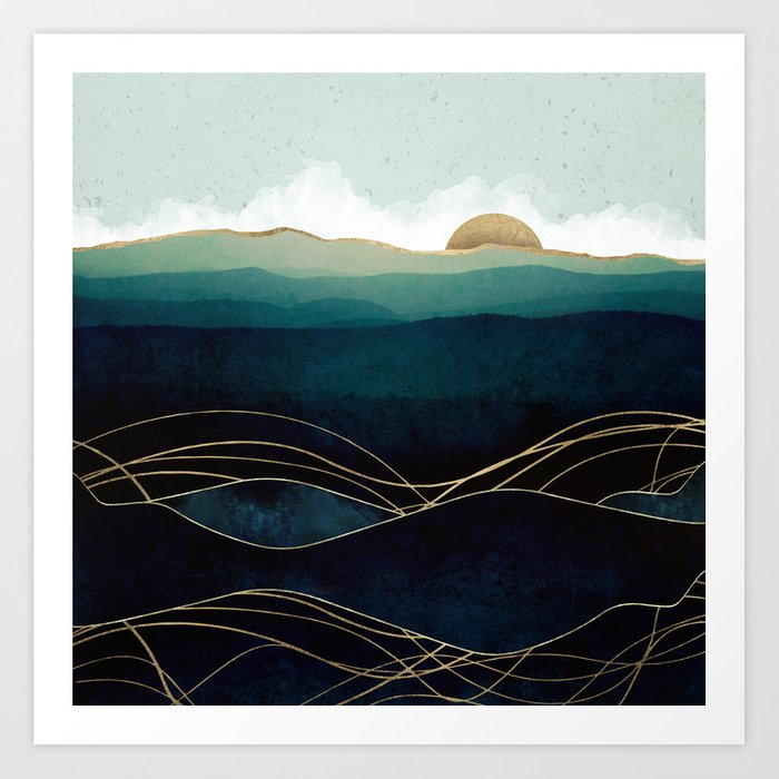 Indigo Waters Kunstdrucke