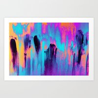 paradise Art Prints featuring Paradise by Elisabeth Fredriksson