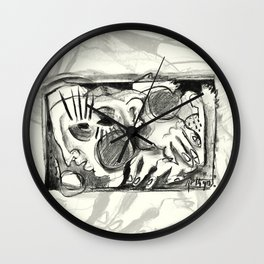 The Shaping of a Man Wall Clock