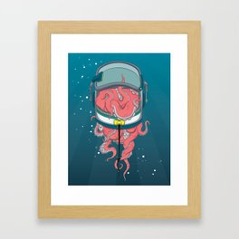Space Tentacles Framed Art Print