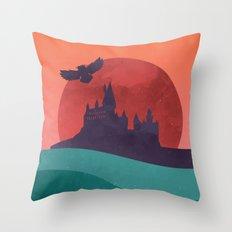 Hogwarts Summer Throw Pillow