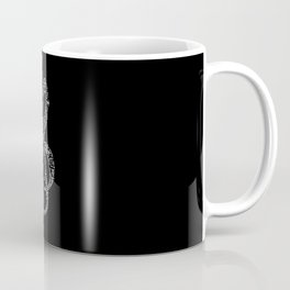 Comic Sheet Music Key Scheme Music Coffee Mug
