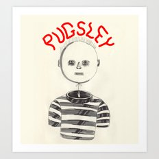 Pugsley Art Print
