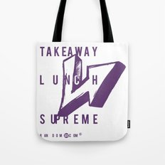 Takeaway Lunch Supreme Tote Bag