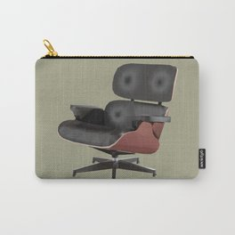 Eames Lounge Chair Polygon Art Carry-All Pouch