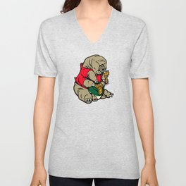 Water Pooh Bear (Tardigrade) Unisex V-Neck